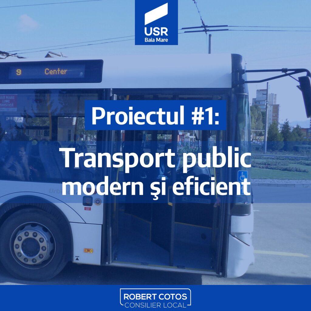 Baia Mare va avea transport în comun eficient și modern
