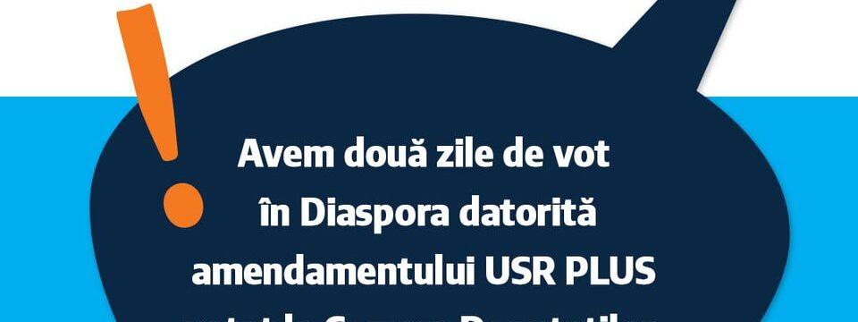 Diaspora votează